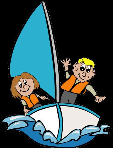 Cadets sailing
